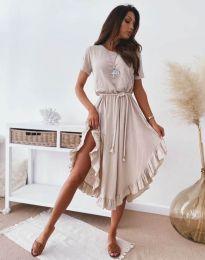 Obleka - koda 11893 - bež