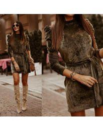 Obleka - koda 0722 - olivna