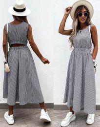 Obleka - koda 2687 - grafitna