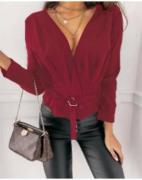 Bluza - koda 5525 - bordo