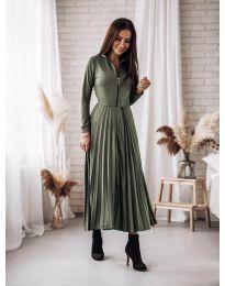 Obleka - koda 1544 - olivna