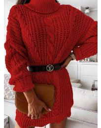 Obleka - koda 6071 - rdeča