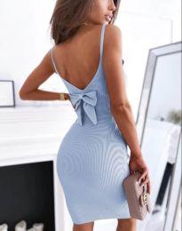 Obleka - koda 0987 - svetlo modra