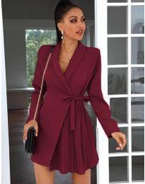 Obleka - koda 0333 - bordo