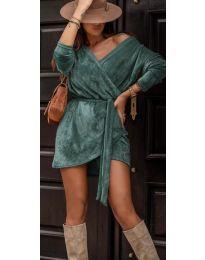 Obleka - koda 238 - turkizna