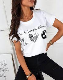 Majica - koda 8383 - bela