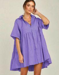 Obleka - koda 6464 - vijolična