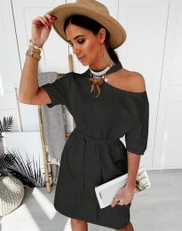 Obleka - koda 5848 - 1 - črna
