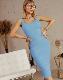 Obleka - koda 5965 - svetlo modra