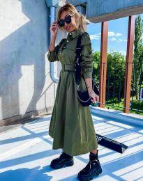 Obleka - koda 1467 - olivna