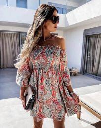 Obleka - koda 2508 -večbarvna