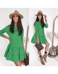 Obleka - koda 8486 - zelena
