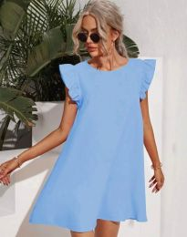 Obleka - koda 6261 - svetlo modra