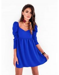Obleka - koda 390 - modra