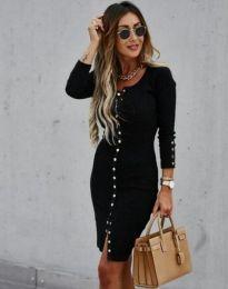 Obleka - koda 5822 - 1 - črna