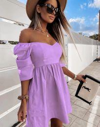 Obleka - koda 7413 - vijolična