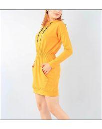 Obleka - koda 7315 - gorčica