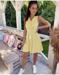 Obleka - koda 3148 - rumena