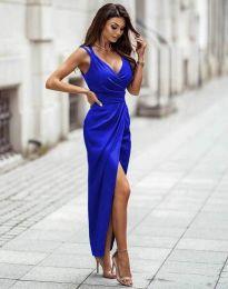 Obleka - koda 6135 - temno modra