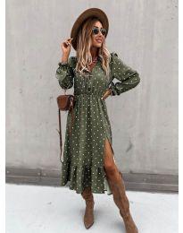 Obleka - koda 8866 - 2 - večbarvna