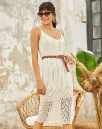 Obleka - koda 0351 - bela