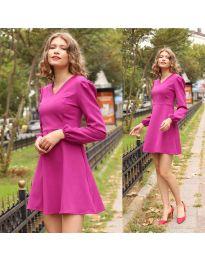 Obleka - koda 1478 - 2 - vijolična
