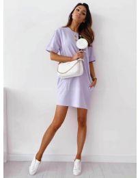 Obleka - koda 7236 - vijolična