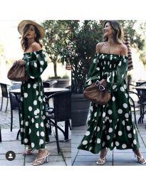 Obleka - koda 9951 - olivna