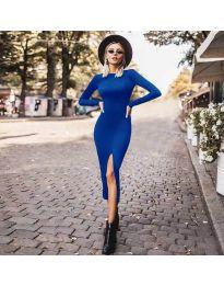 Obleka - koda 4177 - modra