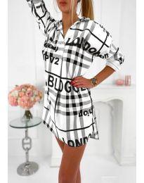 Obleka - koda 5456 - bela
