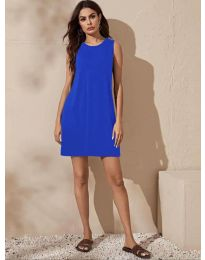 Obleka - koda 3075 - modrá