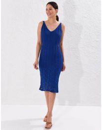 Obleka - koda 0351 - temno modra