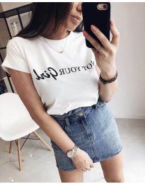 Majica - koda 978 - 1 - bela