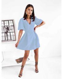 Obleka - koda 0807 - svetlo modra