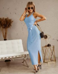 Obleka - koda 6166 - svetlo modra