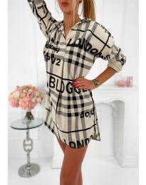Obleka - koda 5456 - bež