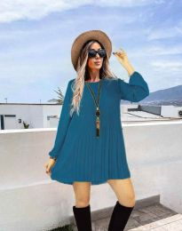 Obleka - koda 1430 - modra