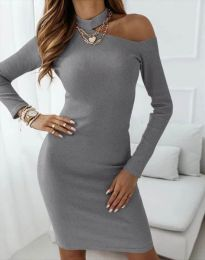 Obleka - koda 4859 - temno siva