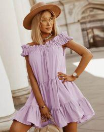 Obleka - koda 6969 - svetlo vijolična