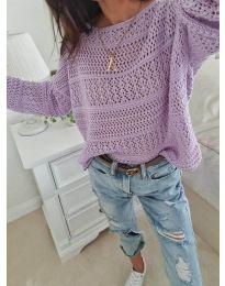 Bluza - koda 2538 - vijolična
