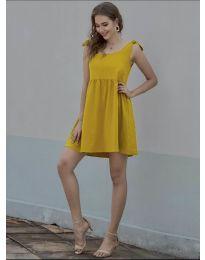 Obleka - koda 2255 - gorčica