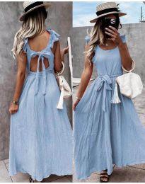 Obleka - koda 4806 - svetlo modra