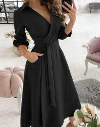 Obleka - koda 2861 - črna