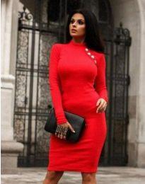 Obleka - koda 9768 - 1 - rdeča