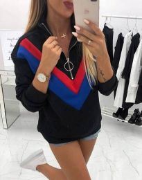 Bluza - koda 7890 - 4 - črna