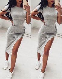 Obleka - koda 1778 - 1 - temno siva