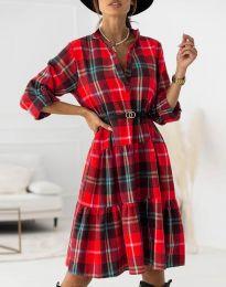 Obleka - koda 6842 - rdeča