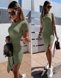 Obleka - koda 8391 - olivno zelena