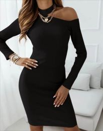 Obleka - koda 4859 - črna