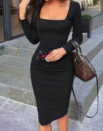 Obleka - koda 4521 - črna